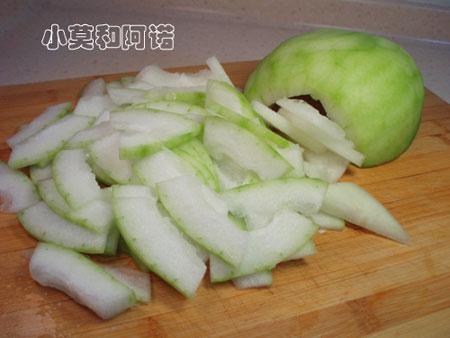 腐乳炒冬瓜