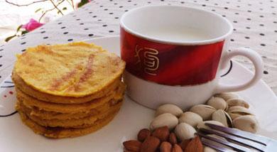 奶香芒果饼