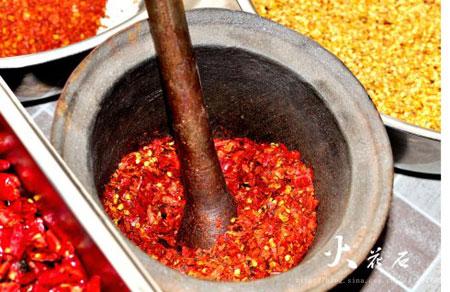 辣椒面的做法