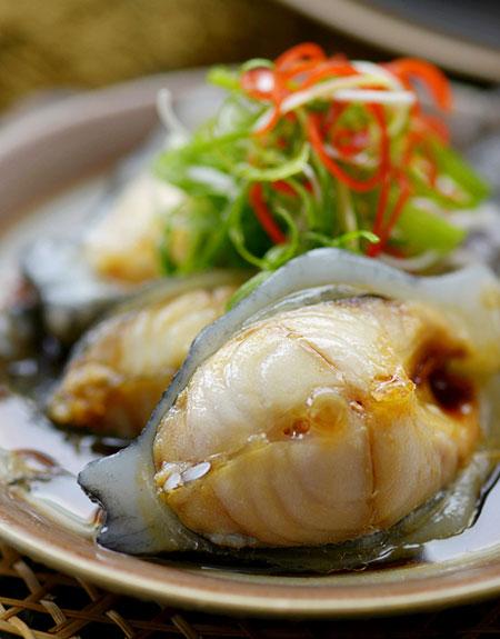 爱吃鱼海参小米系列--v海参冰岛营养斑鱼-爱源类似食谱图片
