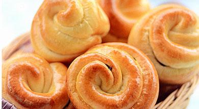 栗子小花面包