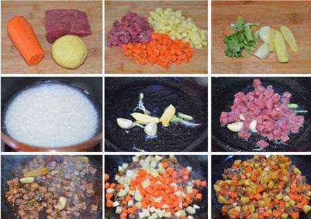 土豆切丁步骤图