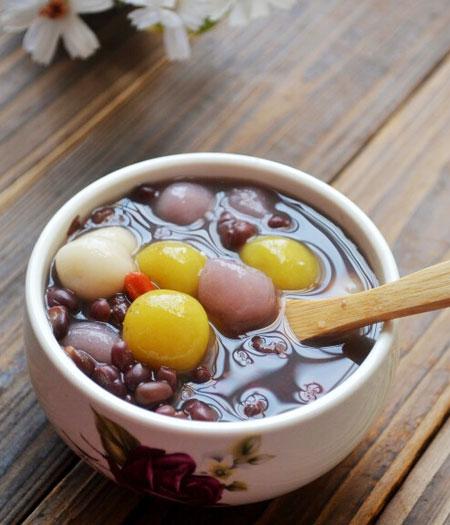 芋圆红豆沙的做法