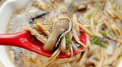 香菇鸡丝羹