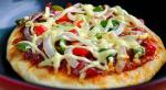 平底锅脆底香肠披萨