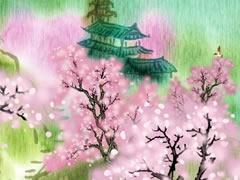 大林寺桃花古诗视频 图片合集图片