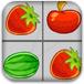 水果四连线
