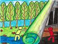 环保儿童画