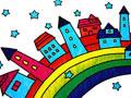 彩虹上的房子