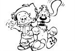 我和好朋友斑点狗
