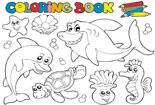 海底动物全家福