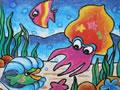 海底的大章鱼