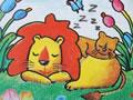 睡着的小狮子