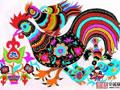 公鸡装饰画