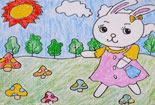 小白兔采蘑菇