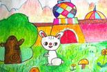 机灵的小白兔