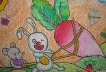 小白兔拔萝卜
