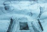 儿童简单铅笔画-梦幻世界