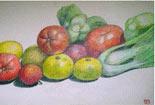 美味的瓜果蔬菜